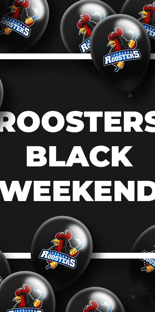 Black Weekend im Roosters-Shop | Iserlohn Roosters